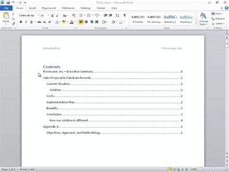 table of contents template word 2010 powerpoint table of contents template the highest