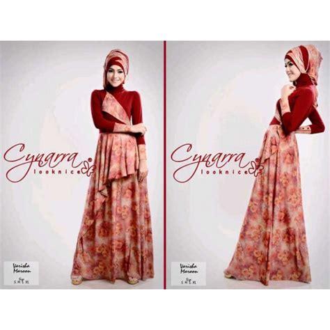 Funkids Varisha Size Xl Purple varisha marun baju muslim gamis modern