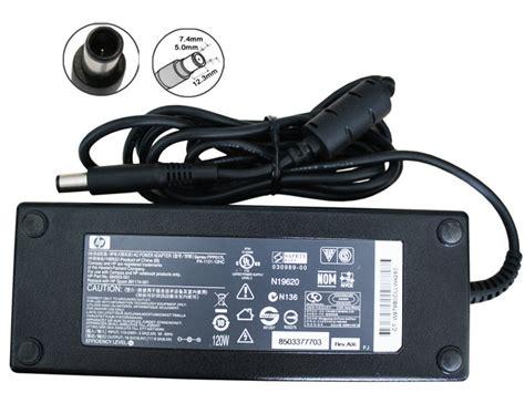 Adaptor Charger Hp 18 5v 6 5a Original hp genuine original ac adapter 18 5v 6 5a 7 4x5 5mm with pin orientec