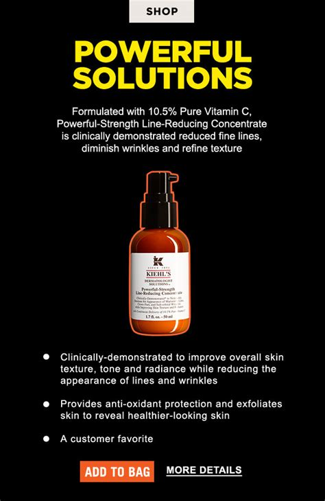 Serum Vitamin C Kiehl S powerful strength line reducing vitamin c serum