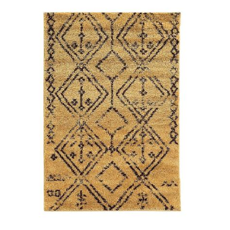 Rugs Home Decor by Linon Home Decor Moroccan Collection Fes Camel And Brown 8