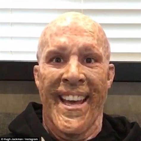 Topeng Deadpool Mask Dead Pool Antihero Xmen X 1 as deadpool promotes hugh jackman for
