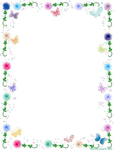 printable borders with flowers 44 best images about templates on pinterest school