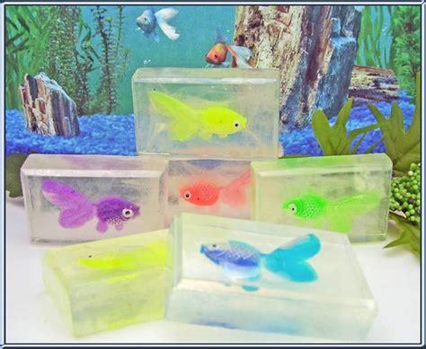 Set Golfish Kid goldfish soap set fish soap set of 5 bars fish toys in soap novelty soap soap
