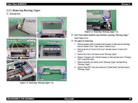 Epson Stylus Photo R300 R310 Service Manual