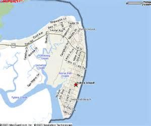 tybee island ga downtown maps