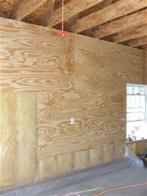 Plywood Garage Walls by Plywood For Interior Walls Home House Design Plans