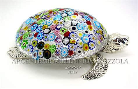 ladari di murano in offerta sea turtle murano glass murrine silver silver glass marine