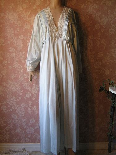 Floor Length Nightgowns by Vintage Nightgown Sleeve Henson Floor Length L Large