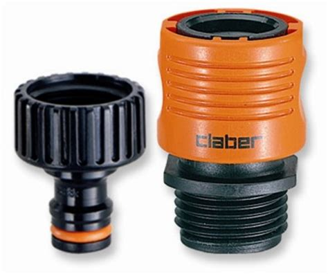 Connect Garden Hose To Faucet by Claber 8458 Faucet To Garden Hose Connector Set New Free Shipping Ebay