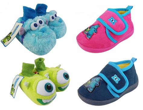 monsters inc slippers boys infant baby monsters inc mike sully novelty