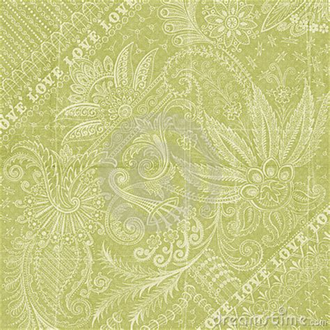 scrapbook backgrounds greens green floral love background scrapbook paper royalty free