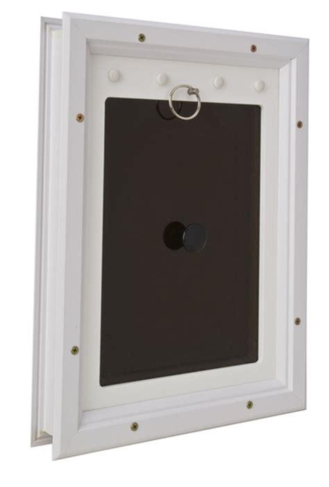 Secure Doggie Door by Pet Door 6 X 11 In Energy Efficient Secure Air Tight
