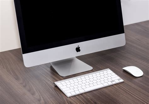 apple imac computer desk free images laptop technology white
