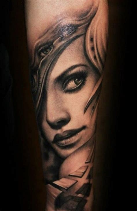 woman face tattoo designs 25 best ideas about on what