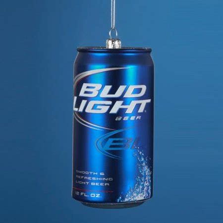 walmart bud light price pack of 6 glass bud light can ornaments 4