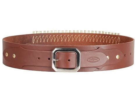 adjustable cartridge belt 22 cal leather