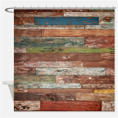 wood shower curtain barnwood shower curtains barnwood fabric shower curtain