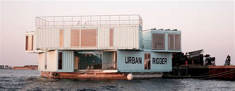 urban housing urban rigger by big offers floating student housing