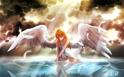 anime girl angel wallpaper anime angels wallpaper 183