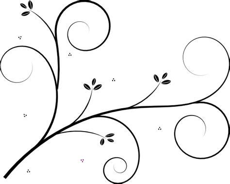 Flourish Frame Outline by Flourish Clip At Clker Vector Clip Royalty Free Domain