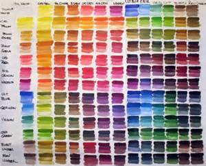9 best images of oil paint mixing charts painting oil