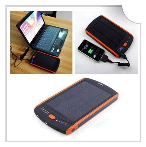 Power Bank Laptop Samsung 3a solar charger 23000mah solar panel power bank for laptop for iphone samsung 5v 12v 16v 19v in