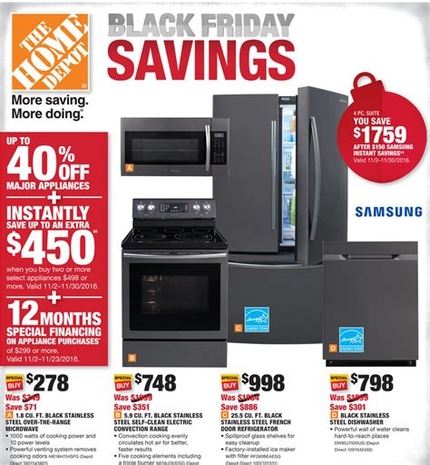 home depot black friday 2016 home depot black friday