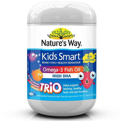 Natures Way Smart Omega 3 Fish High Dha 50softgel Jne Regyes buy nature s way smart omega3 fish trio 180