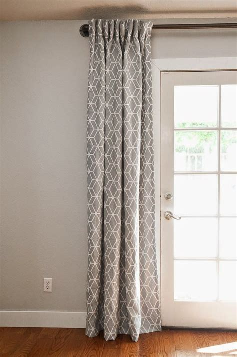 the right way to hang curtains best hanging curtains ideas on how to hang hanging