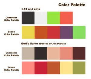 color palate of character design gibbibbubub