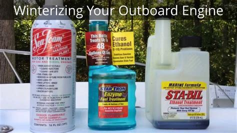 how to winterize a johnson outboard boat motor how to winterize evinrude johnson and other outboard