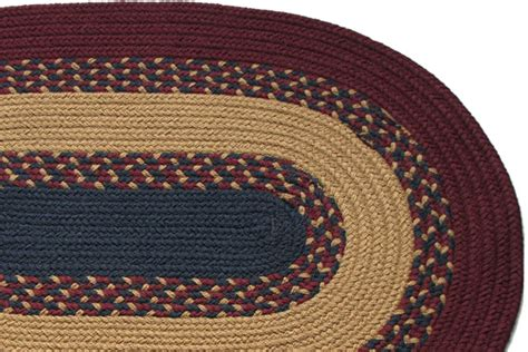 navy braided rug 1812 burgundy camel navy braided rug