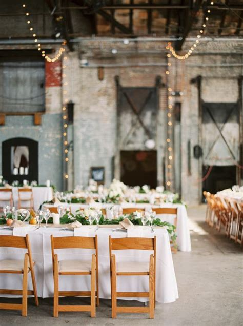 Industrial, Receptions and Wedding on Pinterest