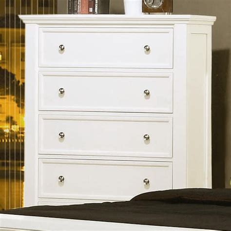 sandy beach bedroom set white furniture bedroom furniture chest coaster 201305