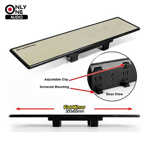 Universal Clip Wide O4x sale universal adjustable broadway 300mm wide angle flat auto interior mirrors clip car