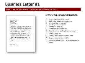 Business Letter Format Mla Mla Format For Business Letter Sle Business Letter