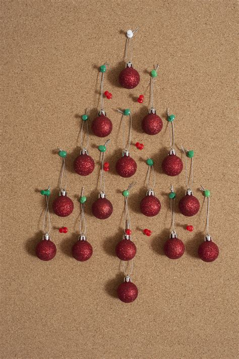Xmas Decorating Ideas Home Photo Of Christmas Baubles On Notice Board Free
