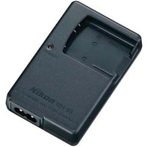 nikon en el10 battery charger nikon mh 63 battery charger for en el10 best price at