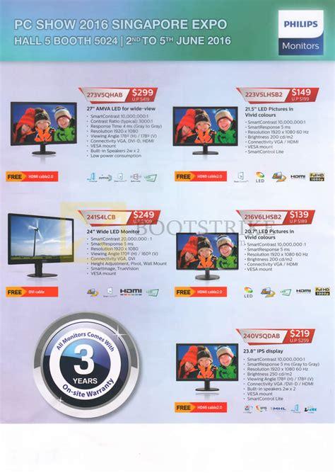 pc themes singapore price list philips monitors led 273v5qhab 223v5lhsb2 241s4lcb