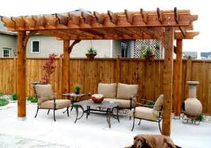 Wood Pergola Designs And Plans by 15 Designs Of Pergolas To Shade Seating Areas Home