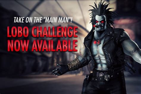 injustice gods among us new challenge injustice gods among us lobo challenge available