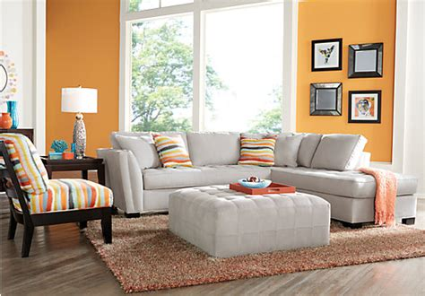 home calvin heights platinum 2 pc sectional