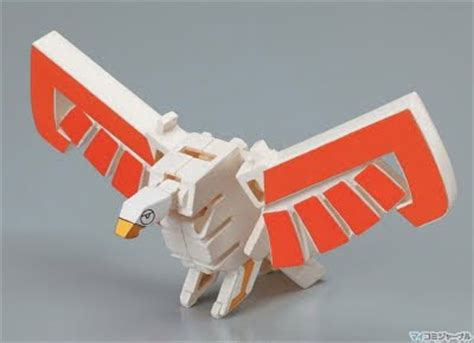 Shinkenger Origami - henshin grid bandai japan new toyline resembles
