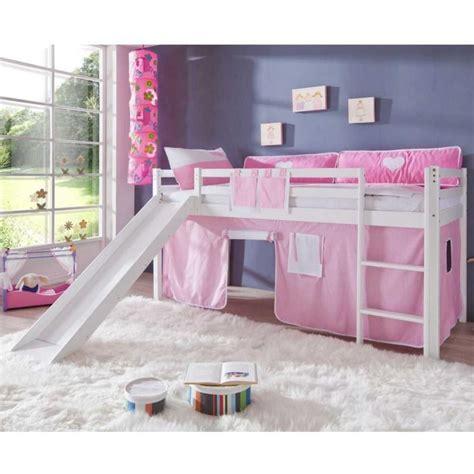 kinderbett haus rosa m 228 dchen hochbett in wei 223 rosa rosa kinderzimmer