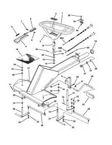 front end steering diagram parts list for model 421618bve snapper parts mower tractor