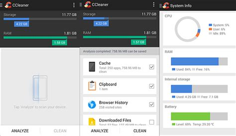 ccleaner android review ccleaner for android now available
