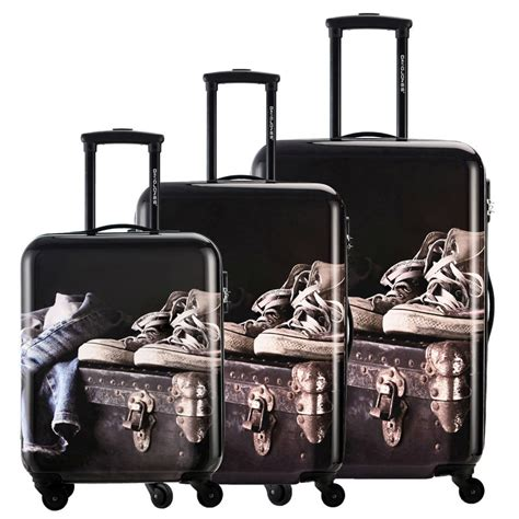 popular printed luggage sets buy cheap printed luggage