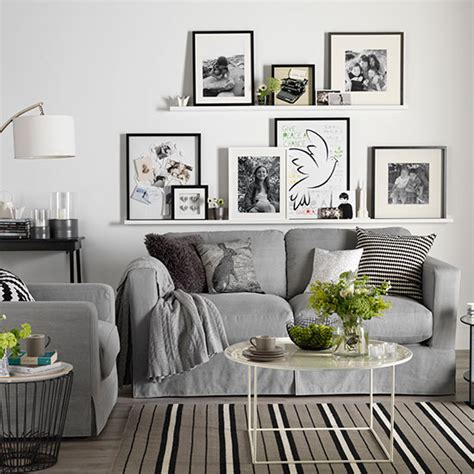 best home decor websites uk white living room with photo display decorating ideal home