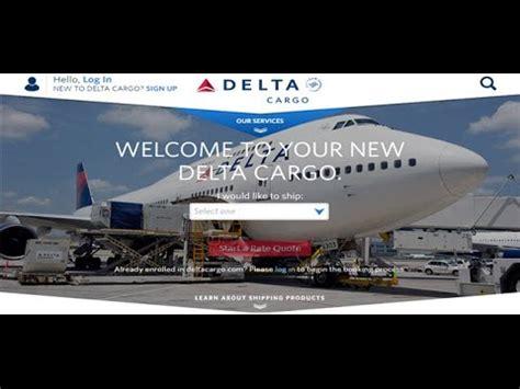 delta cargo tracking delta air cargo tracking status